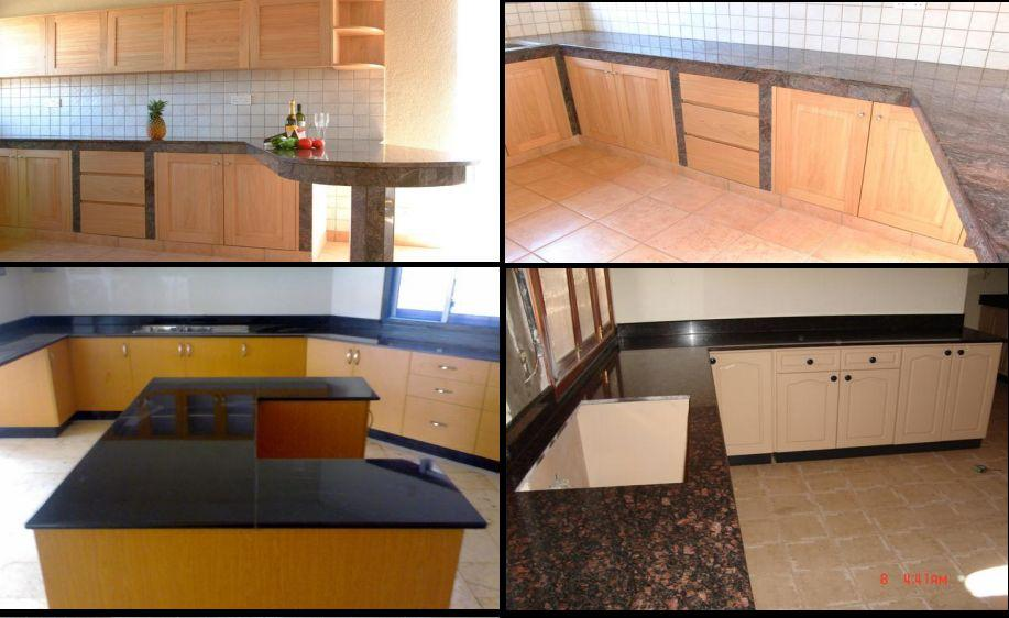 Granite and Marble Work and Counter Tops for Kitchens and Dining Rooms in Kampala - Uganda