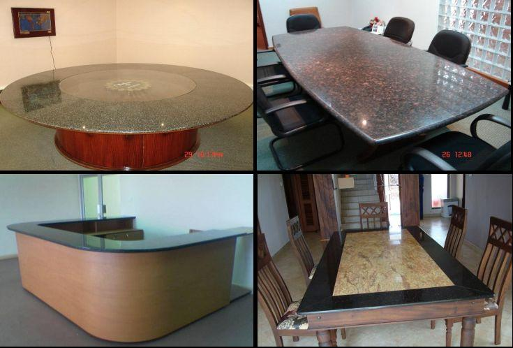 Office and Boardroom Granite and Marble Counter Tops for Hotel Reception Hall in Kampala Uganda