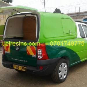 Vehicle Canopy - Fibre Glass and Resins Uganda - UEL Resins