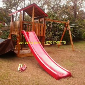 Fibreglass Playground Slide