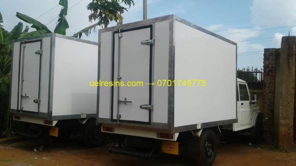 Fibre Glass Insulated Truck Body