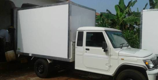 Refrigerated Truck Body - Fibre Glass and Resins Uganda - UEL Resins