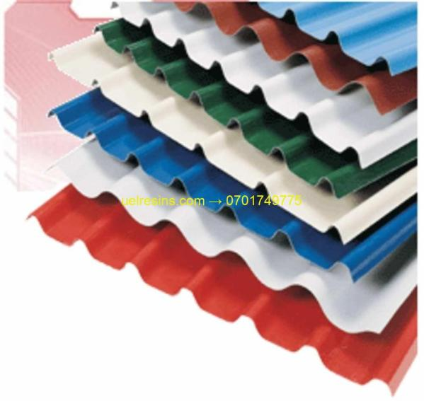 Fibreglass Corrugated Sheet