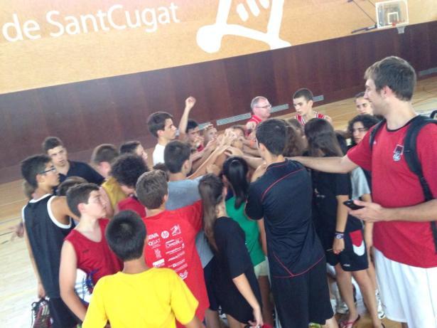 Fotografia de comiat del tercer torn i del Basket City Summer '14