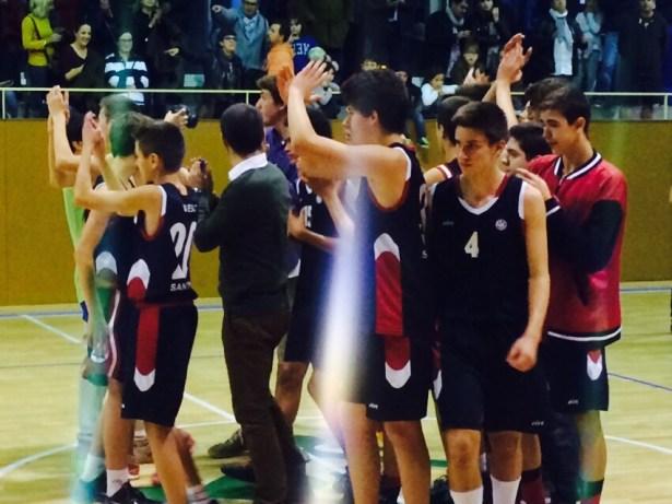 Cadet 2000 Masc - CB Santa Coloma A 2014-2015