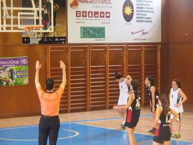 Sub 21 Fem - Basquet Sitges 2014-2015  11