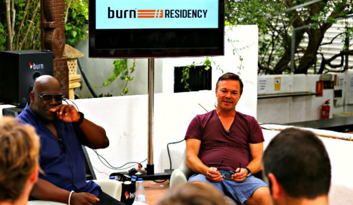 burn Residency_Carl Cox & Pete Tong