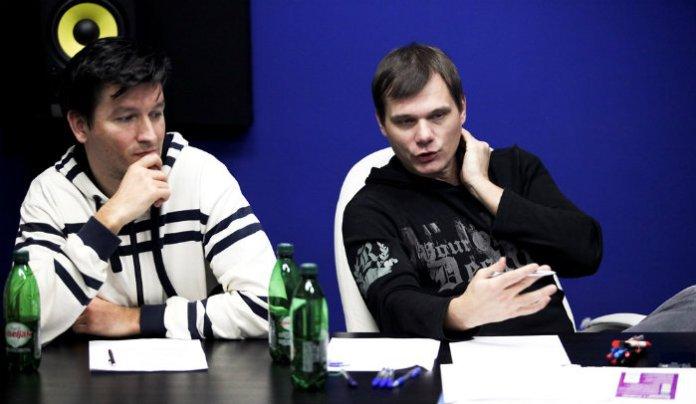 Goran Vlajić i Damir Ludvig moderiraju raspravu (DJ konferencija)