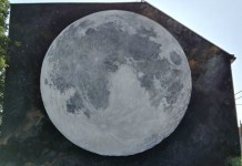 Martin Hrastić – mural Mjesec