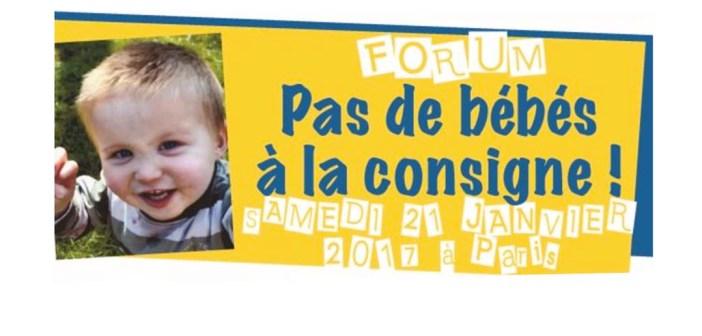 Samedi 21 janvier à Paris : Yes Futur! L'accueil de la petite enfance en débat sur la place publique