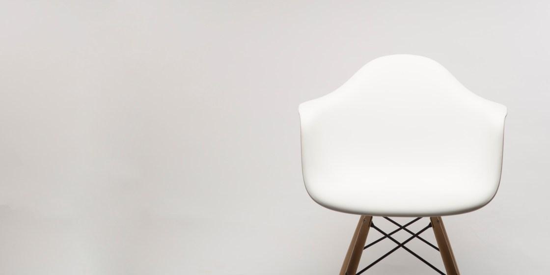 sedia di design che può essere contraffatta