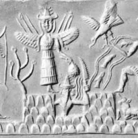 Mesopotamian Sumerian and Akkadian Assyrian Babylonian myths 200x200 Ancient Sumerian Anunnaki Gods From the Sky