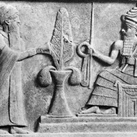 Ur Nammu enthroned in Ur . Terah moves to Ur to liaison with royal court Watering Plant 200x200 Ancient Sumerian Anunnaki Gods From the Sky