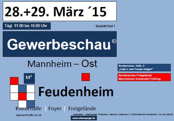 Wir präsentieren die Gewerbeschau Mannheim-OST
