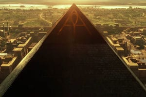 Fourth Black Pyramid in Giza