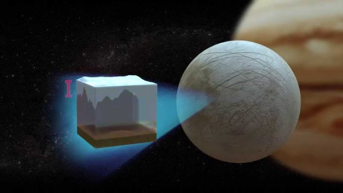 """extraterrestrial life"" in Enceladus, moon of Saturn"