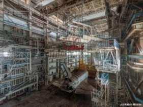 Soviet Hangar Found in the Kazakh desert
