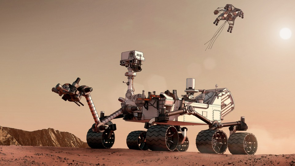 cleaning the NASA Rovers on Mars