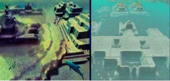 Submerged Pyramids of Cuba