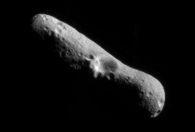 Old Mining Machine on Eros Asteroid