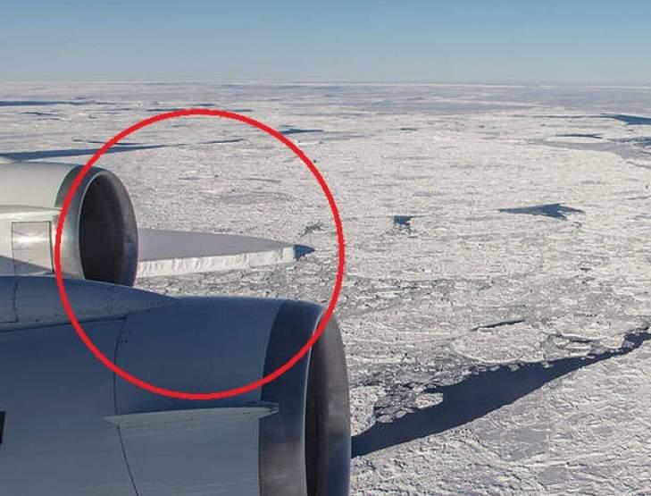 rectangular iceberg