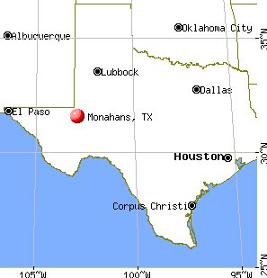 Location - Monahans, Texas