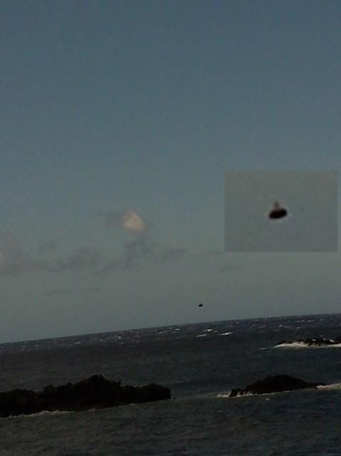 UFO over Maui, Hawaii