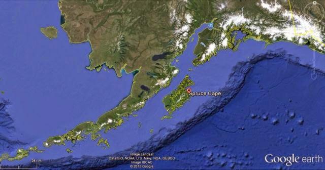 Image: Spruce Cape in Alaska.
