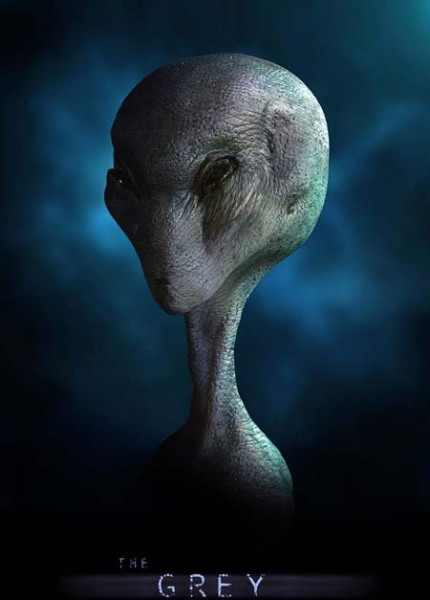 Large Alien Grey