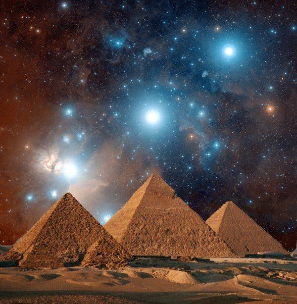¡Algunos creen que las Pirámides fueron construidas para alinearse con el cinturón de Orión!