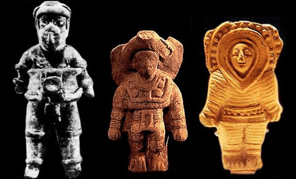 Mayan Artefacts appearing to show some kind of 'Alien' presence!?