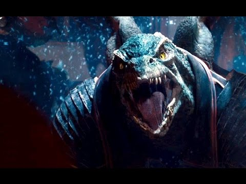 The 'Reptilian' guest appearance in the film Jupiter Ascending.
