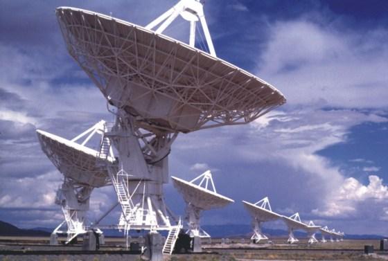 The Allen Telescope Array (ATA) - Credit: SETI