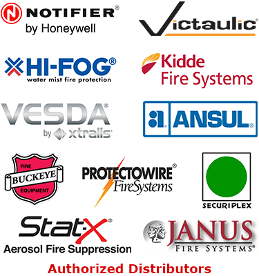 United Fire Protection Authorized Distributor Logos