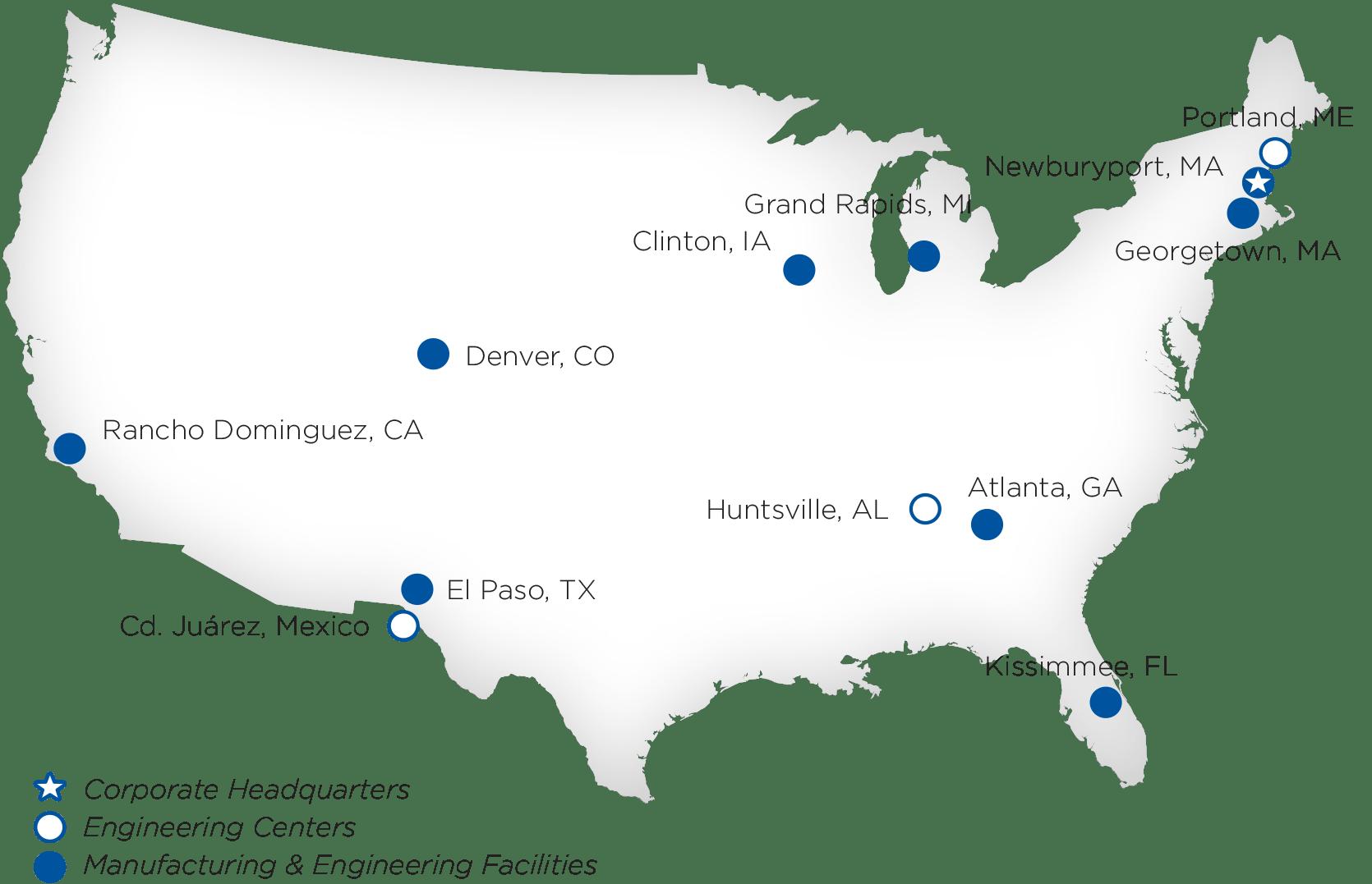 Locations