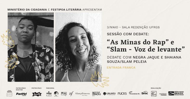 FestiPoa Literária - As minas do Rap e Slam - Voz de levante