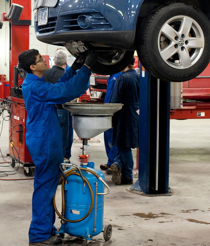 Automotive Service Certificate University Of The