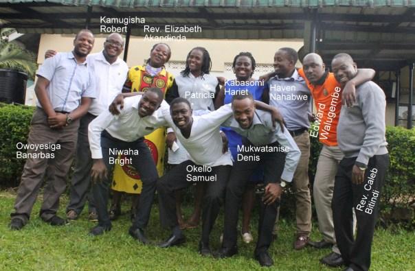 Some of many UCU graduates working in Bwindi, Uganda (UCU Partners photo)