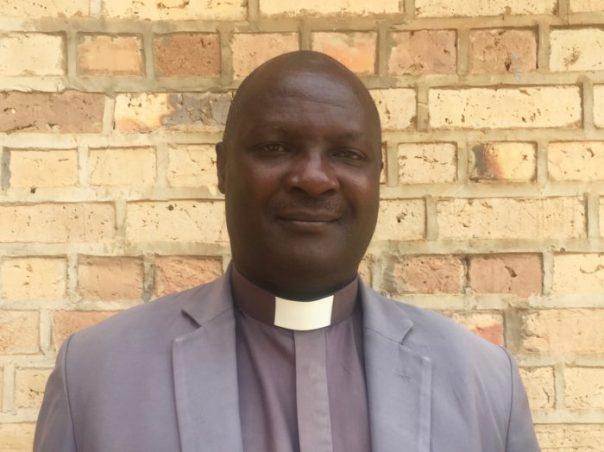 Rev. Eric Noel at St. James Cathedral in Ruharo, Mbarara Municipality. (UCUPartners Photo)