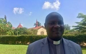 Rev. Noel at St. James Cathedral