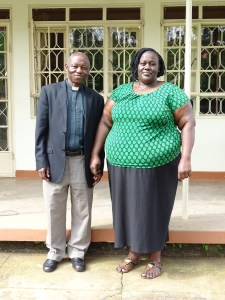 Rev. Canon Moses Stephen Isabirye and wife, Ruth