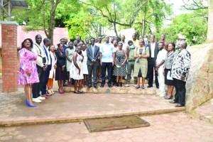 Birding course graduates and faculty