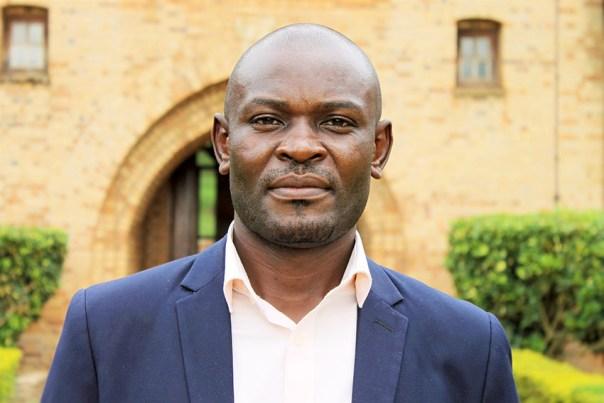 Simon Mwima, recipient of a merit-based PhD scholarship at the University of Illinois Urbana-Champaign
