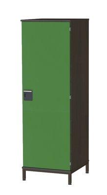armoire 1 porte yun l 58 x h 181 x pr 63 cm 1 3 penderie