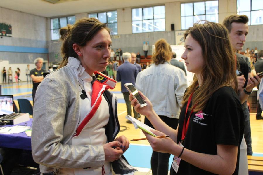 Intervista a Chiara Mormile al termine della gara – 07.06.2017