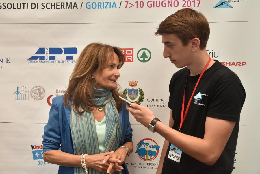 Intervista a Joelle Piccinino, presidentessa del comitato organizzativo degli Assoluti di scherma Milano 2018 – 09.06.2017