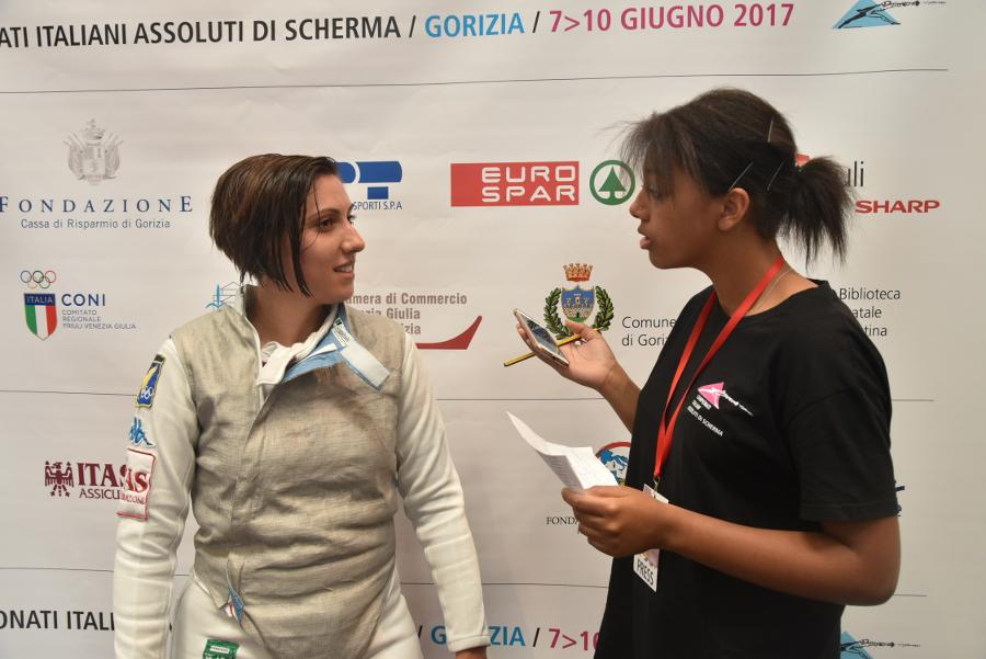 Intervista a Elisa Vardaro dopo la gara – 09.06.2017