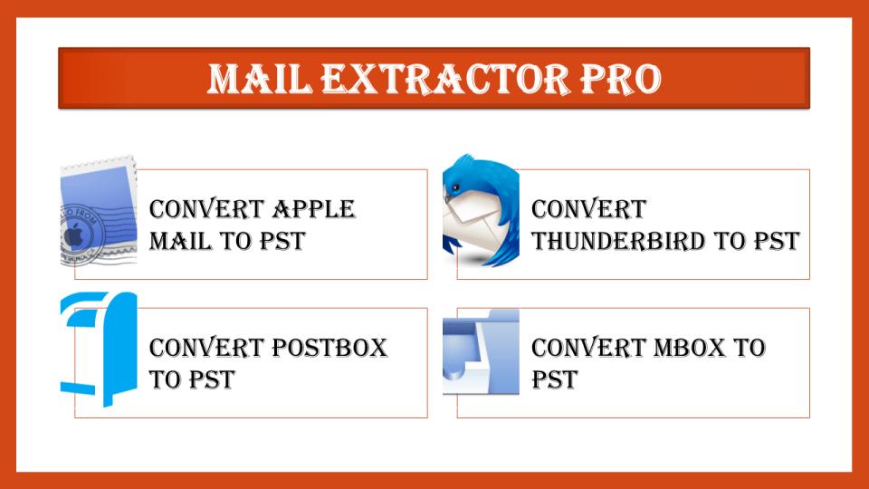 Mac Mail MBOX to PST