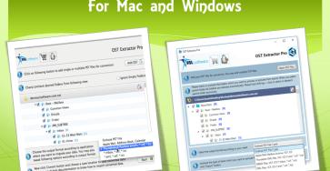 Convert Outlook OST file to Thunderbird