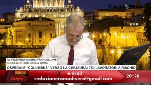 Intervento Valerio Franceschini UGL Sanità Roma